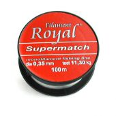 Fire Crap monofilament Fir Royal Supermatch