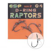 Carlige Crap Carlige Raptor D-ring G-4