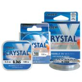 Fire Crap monofilament Fir Lazer Crystal Fluorocarbon