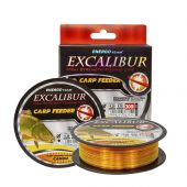 Fire Crap monofilament Fir Excalibur Feeder Fluo Galben Orange Camou
