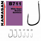 Carlige Stationar Carlige B711 X Strong Wide Gape Bronze Barbless