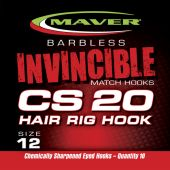 Carlige Stationar Carlige Seria Invincible Cs20 Hair Rig F Barbeta