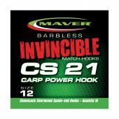 Carlige Crap Carlige Seria Invincible CS21 Carp Power F Barbeta