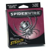 Fire Crap textile Fir Spiderwire Stealth Fluo