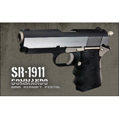 SR1911 Commando GBB Full Metal