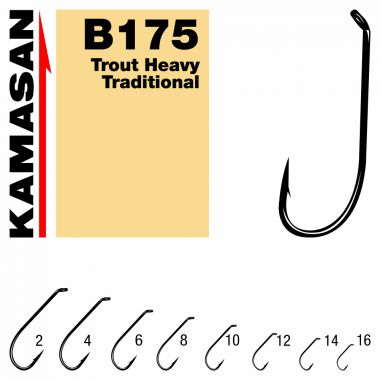 Carlige Fly B175 Trout Heavy Traditional